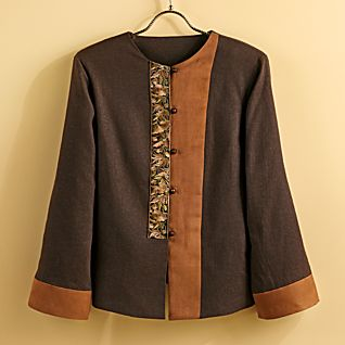 Embroidered Miao Linen Jacket