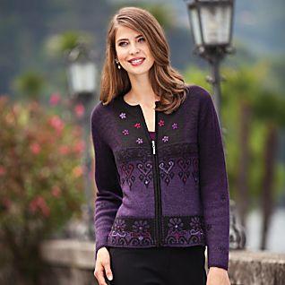 Peruvian Ombré Alpaca Sweater