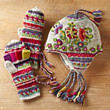 100% Wool Kamala Earflap Hat
