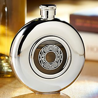 View Celtic Pewter Flask image