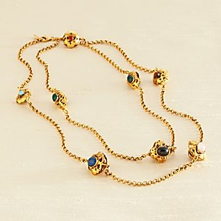Florentine Golden Flower Necklace