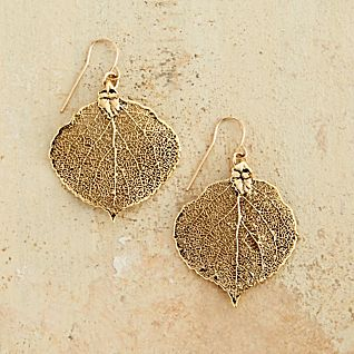View Aspen Leaf Earrings image