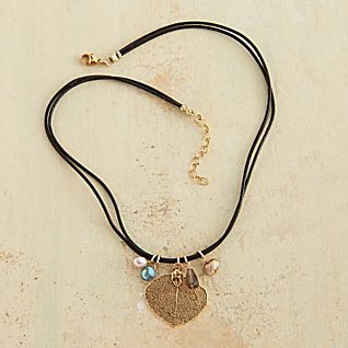 View Aspen Leaf Necklace image