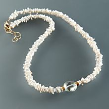 Pearl Puka Necklace
