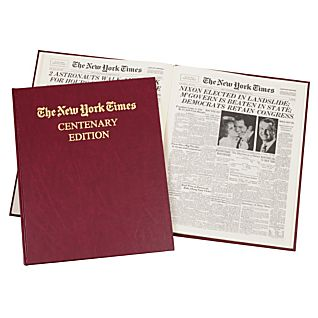 New York Times Centenary Folio