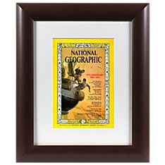 Personalized Historic Framed 'your Year'magazine