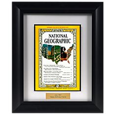 Historic Personalized Framed 'your Year'magazine