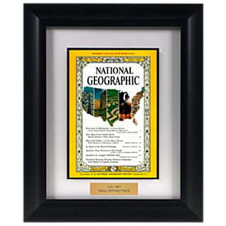 View Personalized Framed ''Your Year'' National Geographic Magazine image