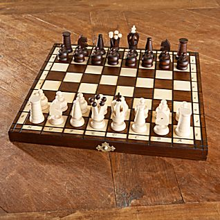 Handcarved Polish Chess Set