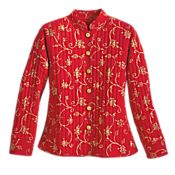 Rajasthani Block-print Jacket - Get Details
