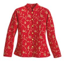 100% Cotton Rajasthani Block-Print Jacket