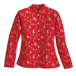 View Rajasthani Block-print Jacket image