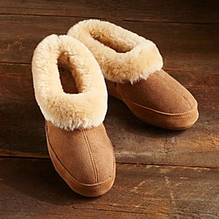 View Women's Shearling Slippers image