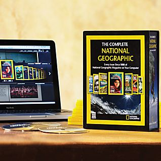 Complete National Geographic on 6 DVD-ROMs - 2010 Updated Edition