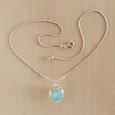 Handcrafted Roman Glass and Pearl Necklace