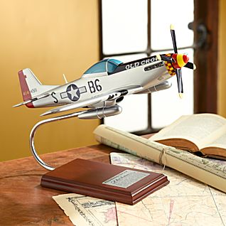 Signed Old Crow Model Plane