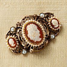 Handcrafted Cameo Pin