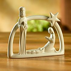 Handcrafted Soapstone Kenyan Nativity