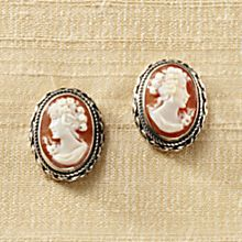 Italian Cameo Earrings