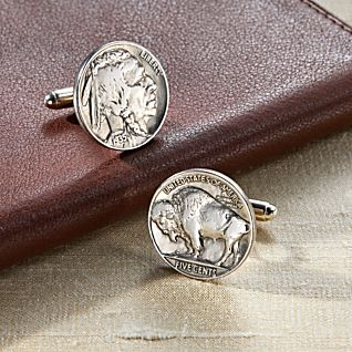 View Buffalo Nickel Cufflinks image