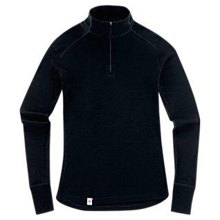 Women's New Zealand Wool Quarter-zip Pullover