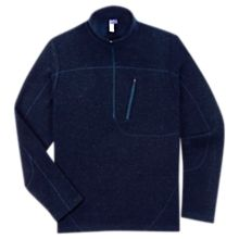 Men'S New Zealand Wool Quarter-Zip Pullover, Made in the USA