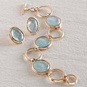 Ancient Roman Glass Medallion Bracelet