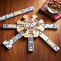Mexican Train Dominoes, Ages 8 and Up