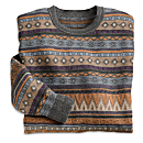 Men's Bingham Silk and Alpaca Sweater