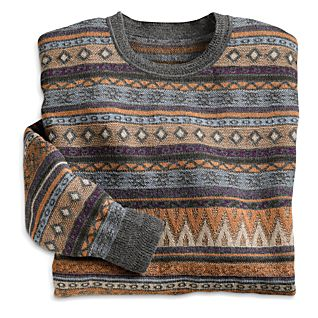 View Men's Bingham Silk and Alpaca Sweater image