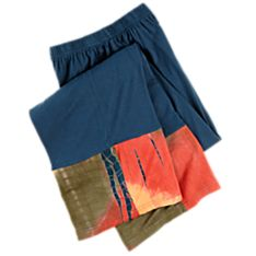 Blue Bandhani Pants, Made in India