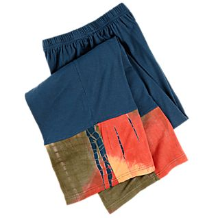 View Blue Bandhani Pants image