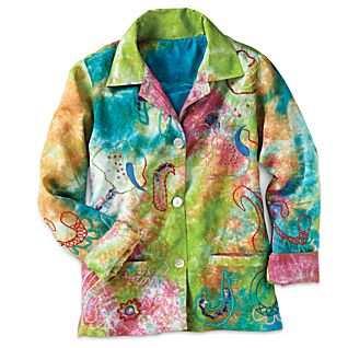 View Indian Rainbow Paisley Jacket image