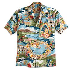 100% Cotton 'Boat Day' Aloha Shirt