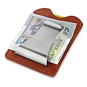 Italian Leather Money Clip