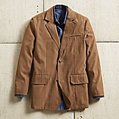 Imported Men's Ultrasuede Travel Blazer