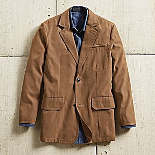 View Men's Ultrasuede Travel Blazer image