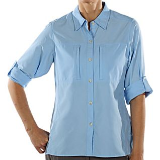 View Women's Ex Officio Dryflylite Long-Sleeve Shirt image