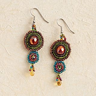 View Maya Beaded Earrings image