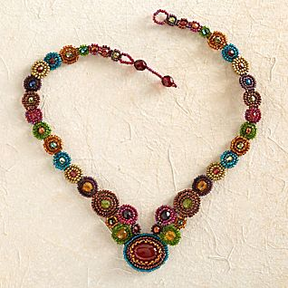 View Maya Beaded Necklace image