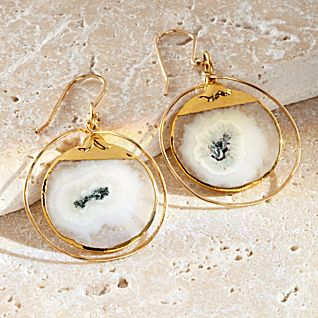 View Solar Quartz Earrings image