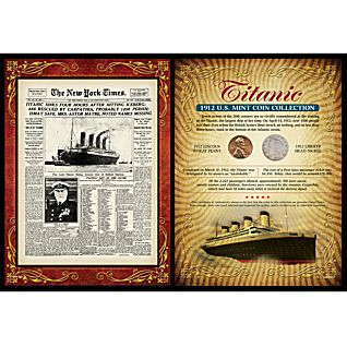 Titanic Coin Card