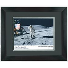 Historic Signed Apollo 16 Photograph