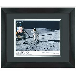 View Signed Apollo 16 Photograph image