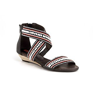 View Maasai Beaded Criss-cross Sandals image