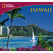 2013 National Geographic Hawaii Wall Calendar