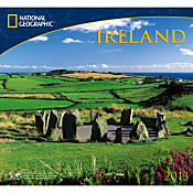 2013 National Geographic Ireland Wall Calendar