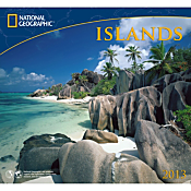 2013 National Geographic Islands Wall Calendar