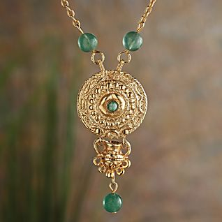 Etruscan Verde Necklace