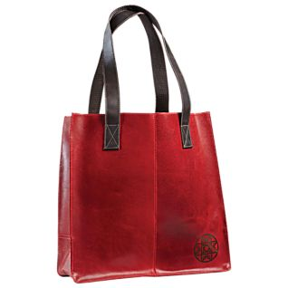 Colombian Leather Star Tote